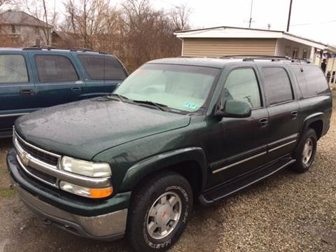 2001 Chevrolet Suburban for sale in Chillicothe, OH