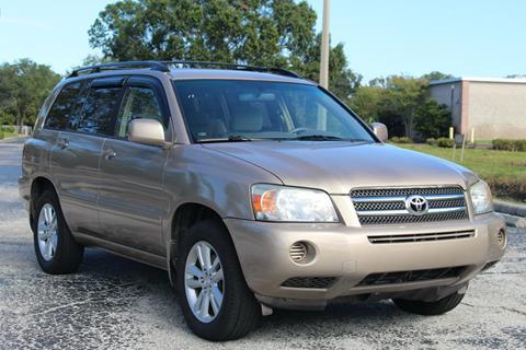 2006 Toyota Highlander Hybrid for sale in Pinellas Park, FL