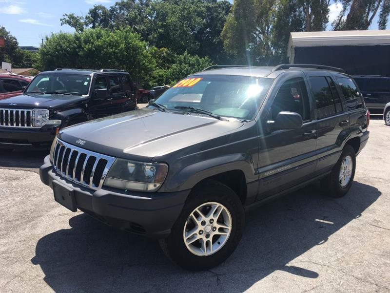 2003 Jeep Grand Cherokee For Sale At True Cars Inc. In Pinellas Park FL