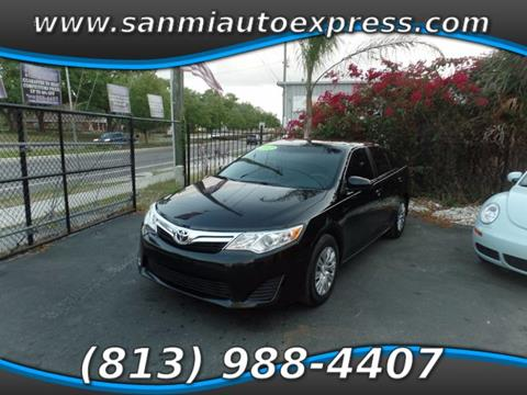 2012 Toyota Camry for sale in Tampa FL