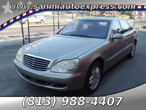 2003 Mercedes-Benz S-Class for sale in Tampa FL