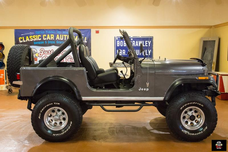 1986 Jeep CJ-7 SUV
