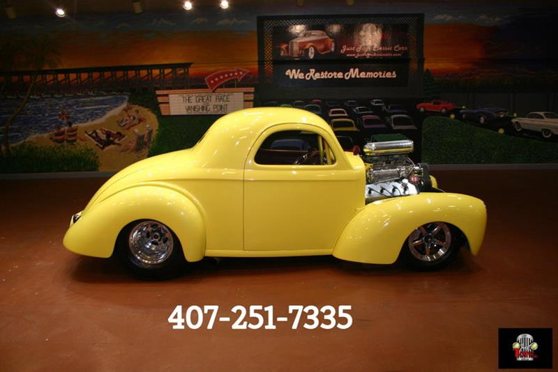 1941 Willys Deluxe Coupe