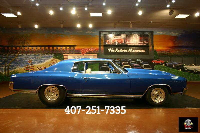 1970 Chevrolet Monte Carlo Sedan