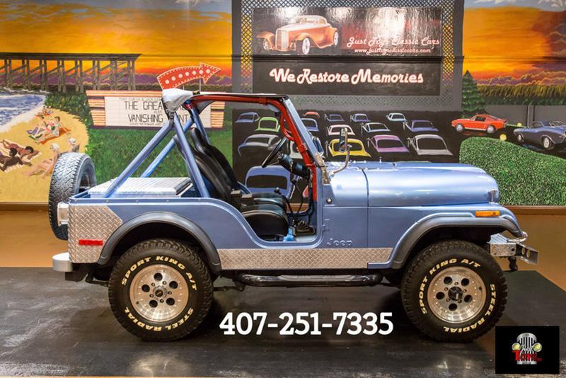 1980 Jeep Wrangler SUV