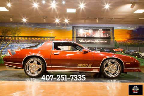 1986 Chevrolet Camaro for sale in Orlando, FL