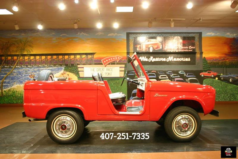 1967 Ford Bronco SUV