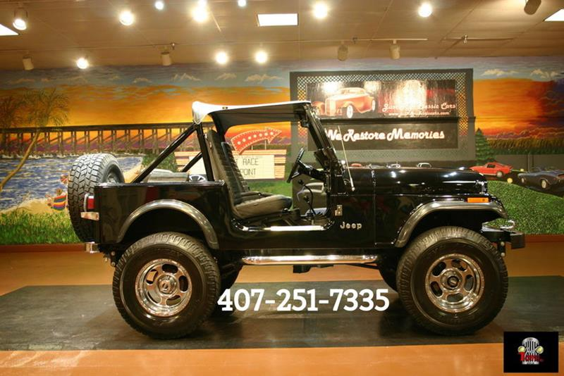1982 Jeep CJ-7 SUV