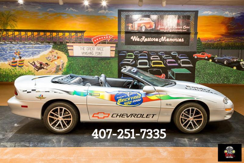 2002 Chevrolet Camaro Convertible