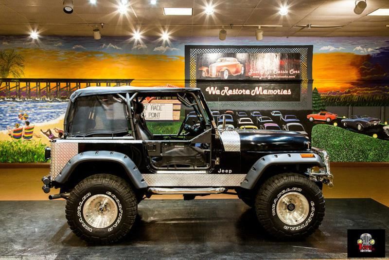 1984 Jeep CJ-7 SUV