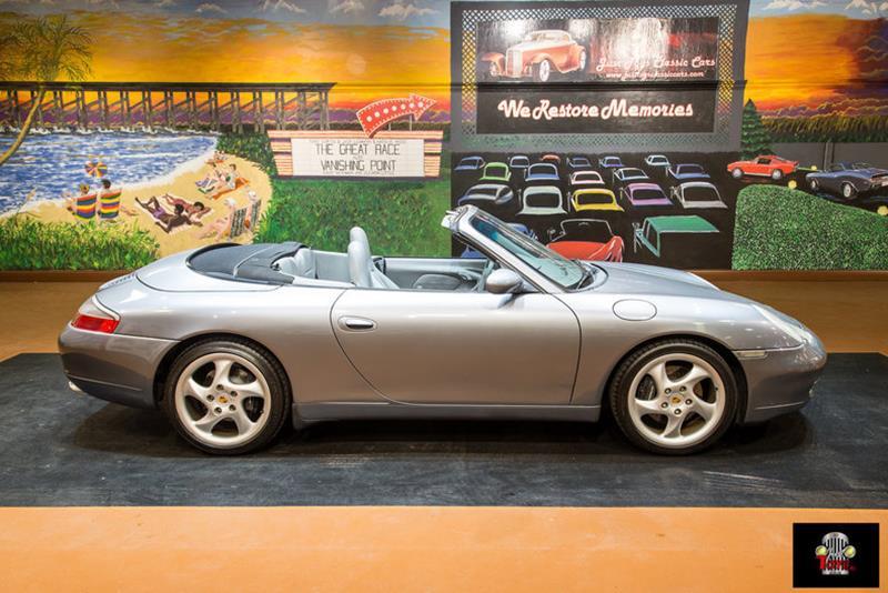 2001 Porsche 911 Convertible