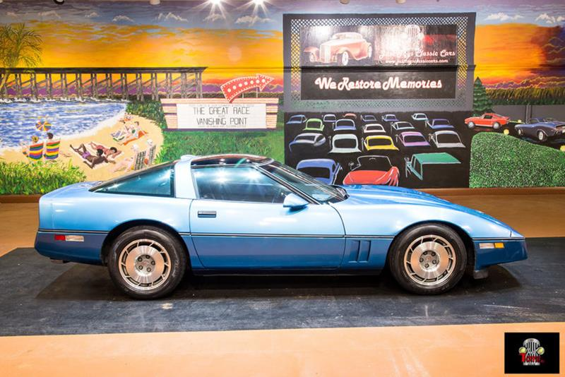 1987 Chevrolet Corvette Hatchback