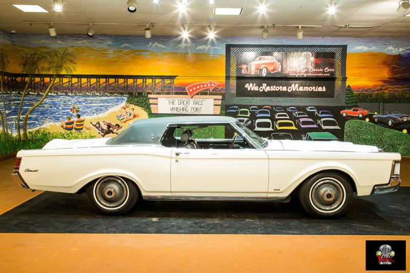 1969 Lincoln Continental Convertible
