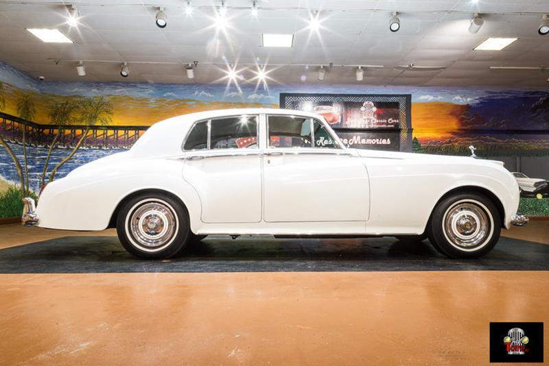 1961 Rolls-Royce Silver Cloud 1 Sedan