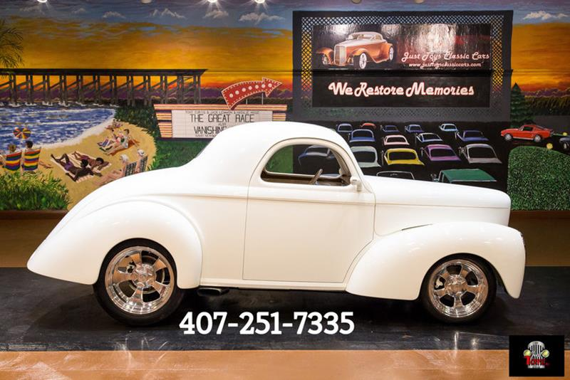1941 Willys Coupe For Sale | AllCollectorCars com