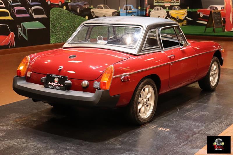 1978 MG MGB 32