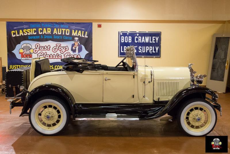 1929 Ford Shay Convertible