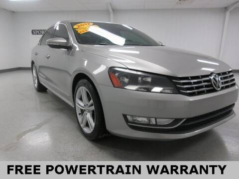 2012 Volkswagen Passat for sale at Sports & Luxury Auto in Blue Springs MO
