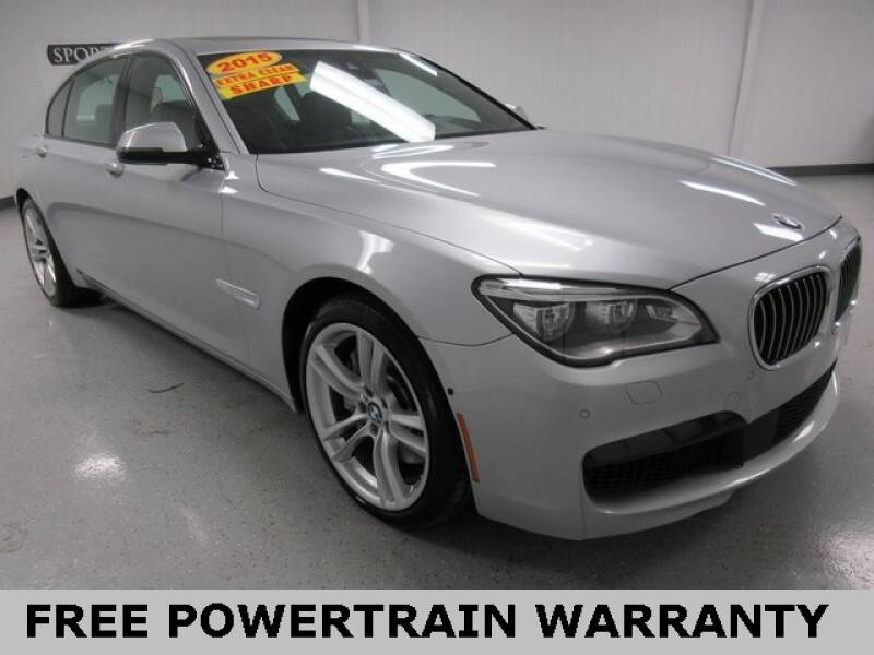2015 BMW 7 Series for sale at Sports & Luxury Auto in Blue Springs MO