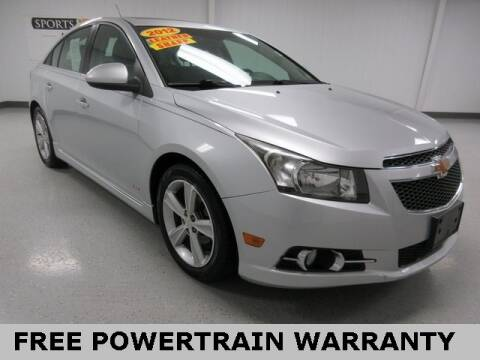2012 Chevrolet Cruze for sale at Sports & Luxury Auto in Blue Springs MO