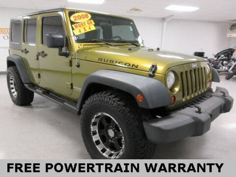 2008 Jeep Wrangler Unlimited for sale at Sports & Luxury Auto in Blue Springs MO
