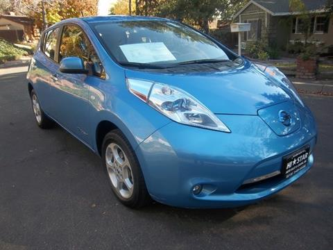 2012 Nissan LEAF for sale in La Crescenta CA