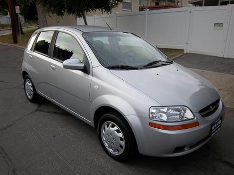 2008 Chevrolet Aveo for sale in La Crescenta CA