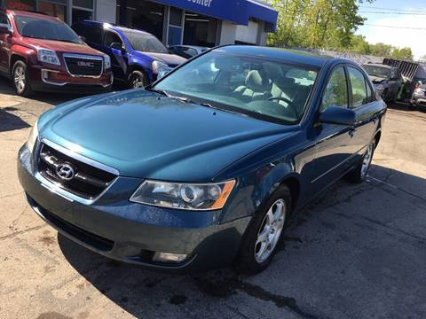 2006 Hyundai Sonata for sale at SKYLINE AUTO in Detroit MI