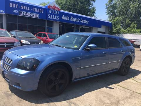 2007 Dodge Magnum for sale at SKYLINE AUTO in Detroit MI