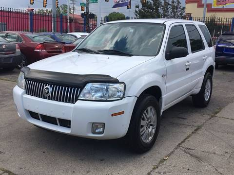 2005 Mercury Mariner for sale at SKYLINE AUTO in Detroit MI