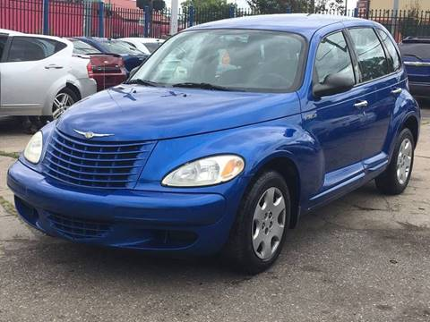 2004 Chrysler PT Cruiser for sale at SKYLINE AUTO in Detroit MI