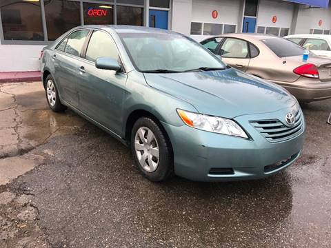 2007 Toyota Camry for sale at SKYLINE AUTO in Detroit MI