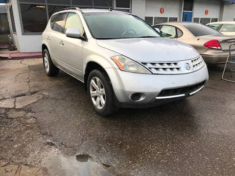 2006 Nissan Murano for sale at SKYLINE AUTO in Detroit MI