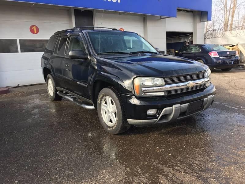 2003 Chevrolet TrailBlazer for sale at SKYLINE AUTO in Detroit MI