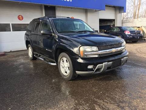2003 Chevrolet TrailBlazer for sale at SKYLINE AUTO in Detroit MI