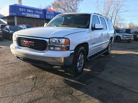 2000 GMC Yukon XL for sale at SKYLINE AUTO in Detroit MI