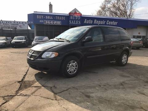 2006 Dodge Caravan for sale at SKYLINE AUTO in Detroit MI