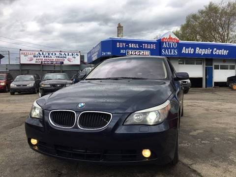 2006 BMW 5 Series for sale at SKYLINE AUTO in Detroit MI