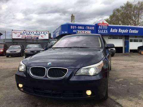 2006 BMW 5 Series for sale at SKYLINE AUTO in Detroit MI