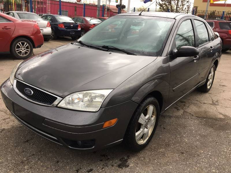 2007 Ford Focus for sale at SKYLINE AUTO in Detroit MI
