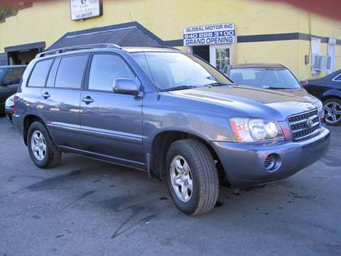 2003 Toyota Highlander for sale in Stafford, VA