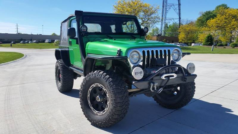 2005 Jeep Wrangler for sale at Lease Car Sales 3 in Warrensville Heights OH