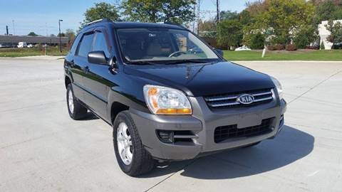 2008 Kia Sportage for sale in Warrensville Heights, OH