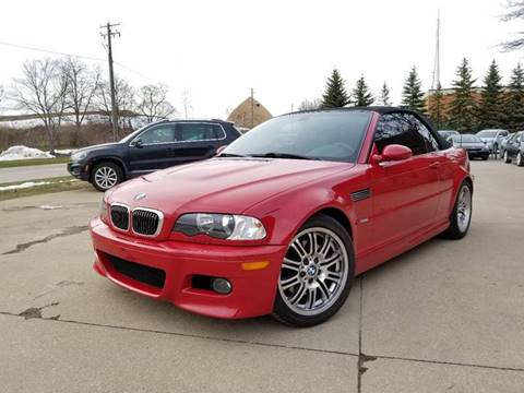 2001 BMW M3 for sale at Lease Car Sales 3 in Warrensville Heights OH