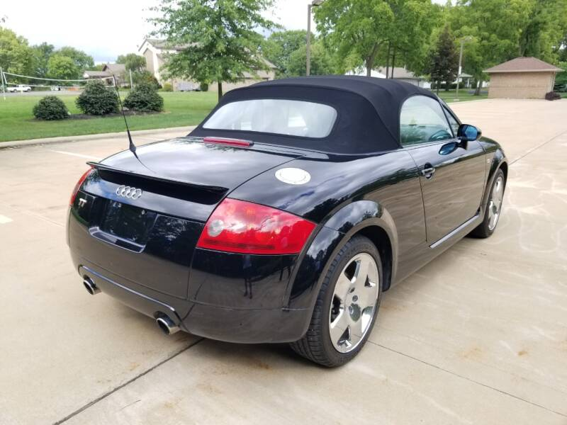 2002 Audi TT AWD 225hp quattro 2dr Roadster - Warrensville Heights OH