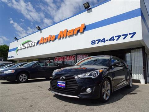 2014 Hyundai Veloster Turbo for sale in Fairfield, OH