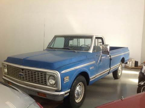 1972 Chevrolet C/K 20 Series for sale at CHAGRIN VALLEY AUTO BROKERS INC in Cleveland OH