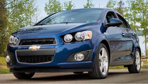 2013 Chevrolet Sonic for sale at CHAGRIN VALLEY AUTO BROKERS INC in Cleveland OH