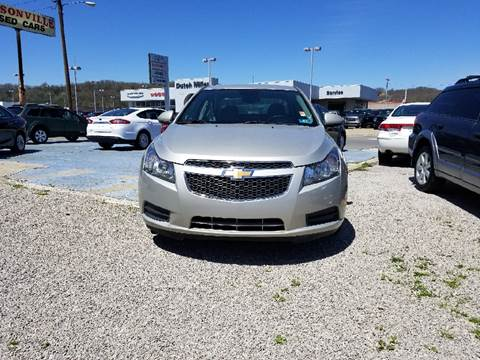 2013 Chevrolet Cruze for sale at Sissonville Used Cars in Charleston WV
