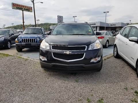 2010 Chevrolet Traverse for sale at Sissonville Used Cars in Charleston WV